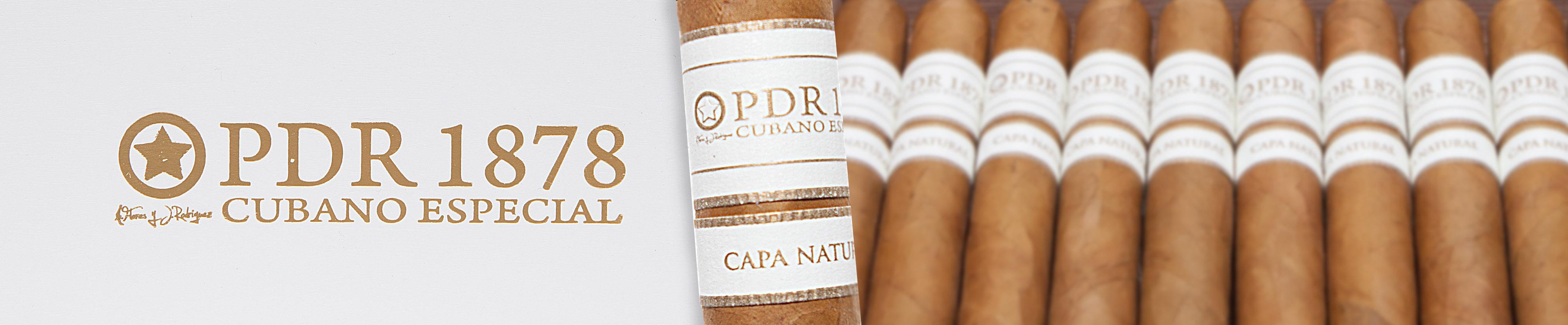 PDR 1878 Cubano Especial Capa Natural