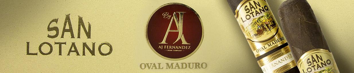 San Lotano Oval Maduro