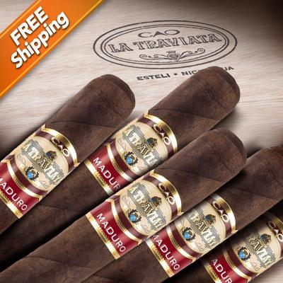 CAO La Traviata Maduro Divino Pack of 5 Cigars-www.cigarplace.biz-31