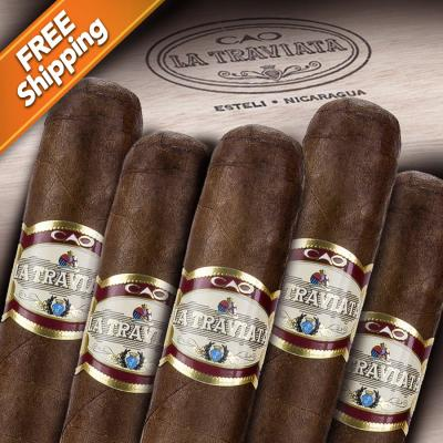 CAO La Traviata Radiante Pack of 5 Cigars-www.cigarplace.biz-31