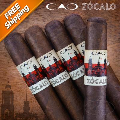 CAO Zocalo Gordo Pack of 5 Cigars-www.cigarplace.biz-31