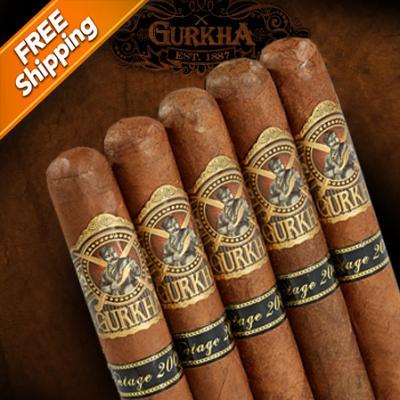 Gurkha Legend Vintage XO Pack of 5 Cigars-www.cigarplace.biz-31