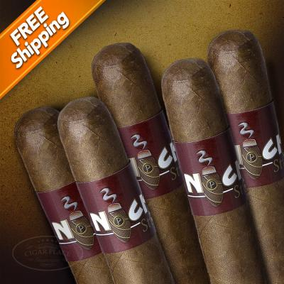 Nicks Sticks Sun Grown Robusto Pack of 5 Cigars-www.cigarplace.biz-31