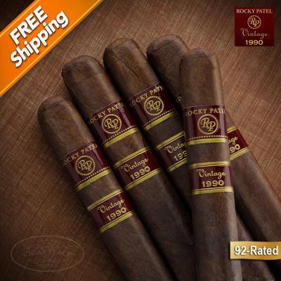 *Rocky Patel Vintage 1990 Robusto Pack of 5 Cigars-www.cigarplace.biz-31