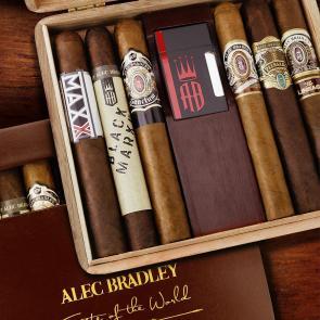 Alec Bradley Taste of the World 6 Cigar Sampler with Grey Lighter-www.cigarplace.biz-21