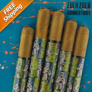 *Gran Habano Zulu Zulu Connecticut Corona Gorda Pack of 5 Cigars-www.cigarplace.biz-20