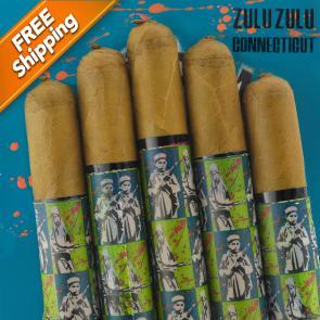 *Gran Habano Zulu Zulu Connecticut Gran Rolo Pack of 5 Cigars-www.cigarplace.biz-21