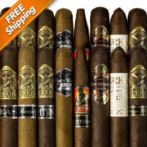 Gurkha Big-Ring Bedlam Part III Cigar Sampler