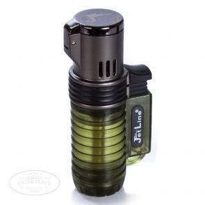 JetLine Triple Flame Torch Lighter Green-www.cigarplace.biz-22