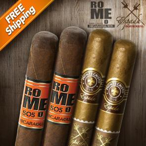 Monte vs. Romeo Nicaragua Face-Off Sampler-www.cigarplace.biz-21