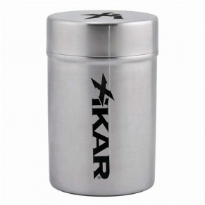 Xikar Stainless Portable Ashtray Can-www.cigarplace.biz-20