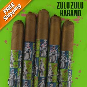 *Gran Habano Zulu Zulu Habano Corona Gorda Pack of 5 Cigars-www.cigarplace.biz-20