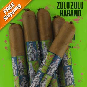 *Gran Habano Zulu Zulu Habano Gran Rolo Pack of 5 Cigars-www.cigarplace.biz-20