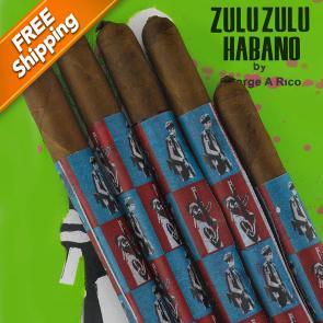 *Gran Habano Zulu Zulu Habano Lancero Pack of 5 Cigars-www.cigarplace.biz-21