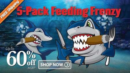 Fiver Feeding Frenzy - Save Up To 60%