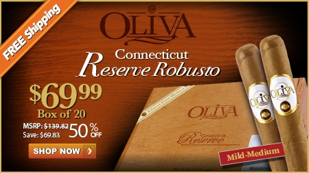 Oliva Connecticut Robusto