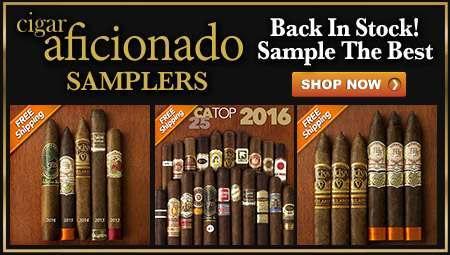 Cigar Aficionado Samplers