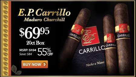 E.P. Carrillo Core Line Maduro Churchill Especial