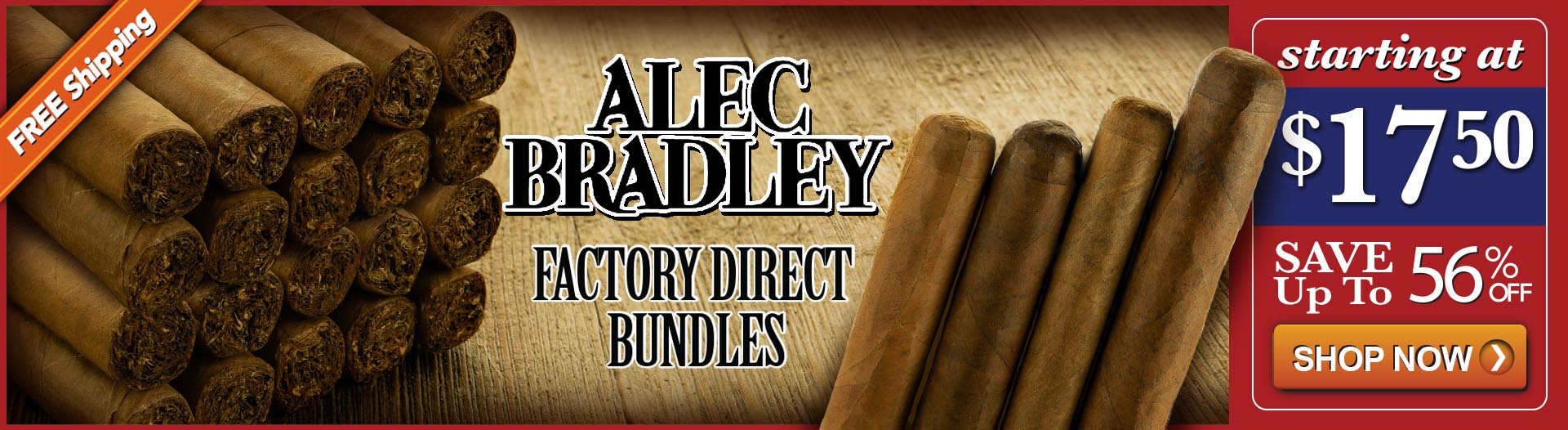 Alec Bradley Factory Seconds