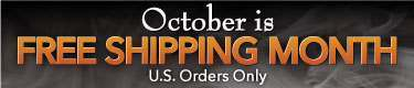 October Is Free Shipping Month
