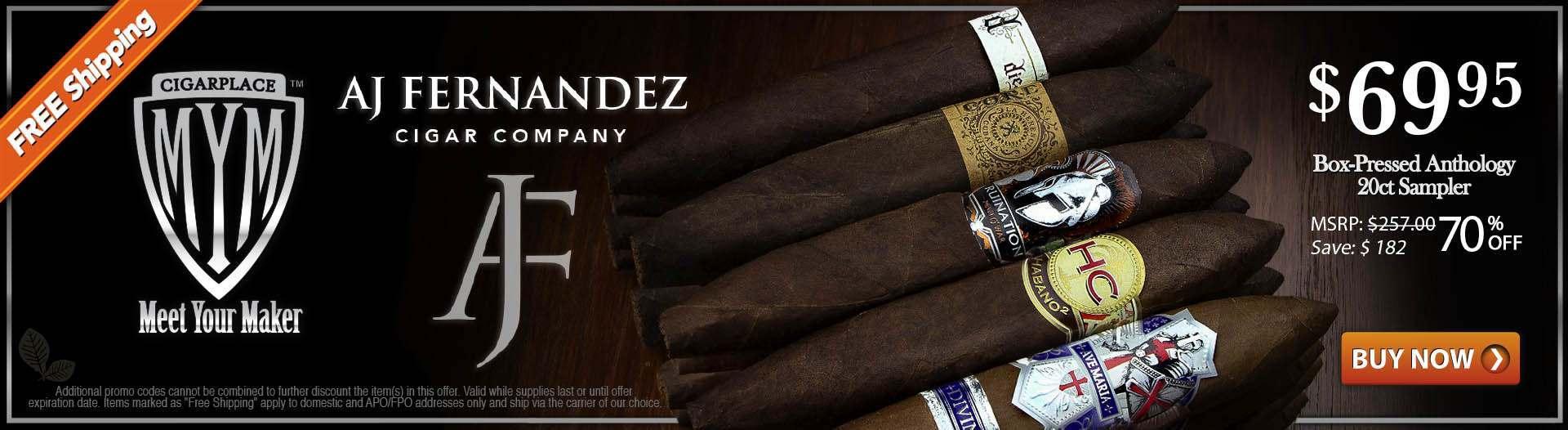 MYM AJ Fernandez Cigar Sampler