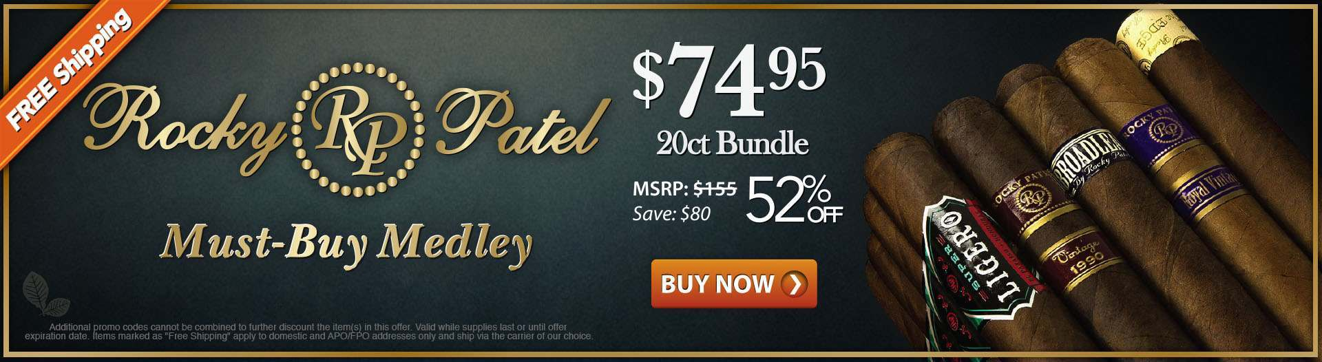 Rocky Patel Must-Buy Medley Cigar Sampler