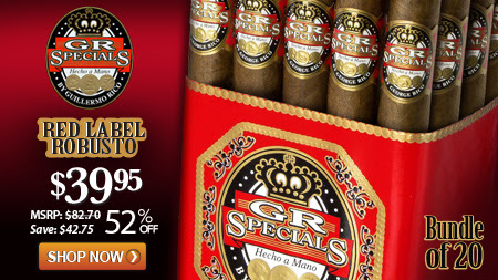 52% Off Gran Habano GR Specials Red Label