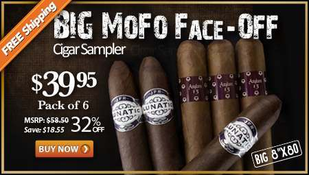 BIG MoFo Face-Off Cigar Sampler