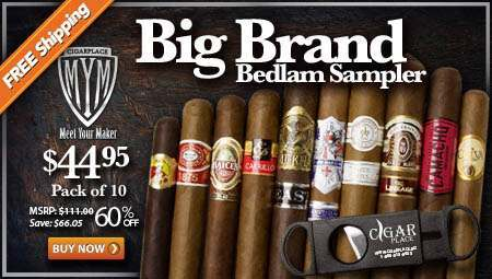 MYM - Big Brand Bedlam Cigar Sampler