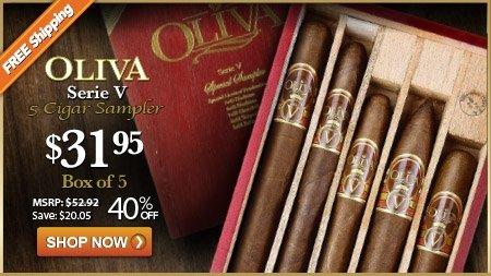 Oliva Serie V 5 Cigar Sampler