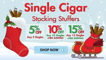 Single Cigar Stocking Stuffer
