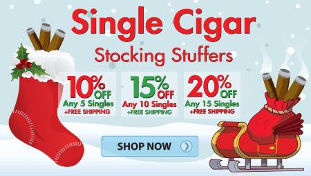 20% Off Single Cigar Savings